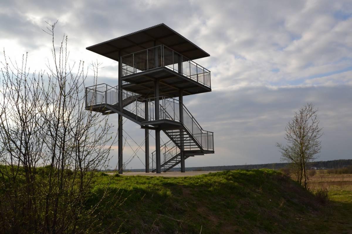 Wieża widokowa (spotterska) w Ożarowicach