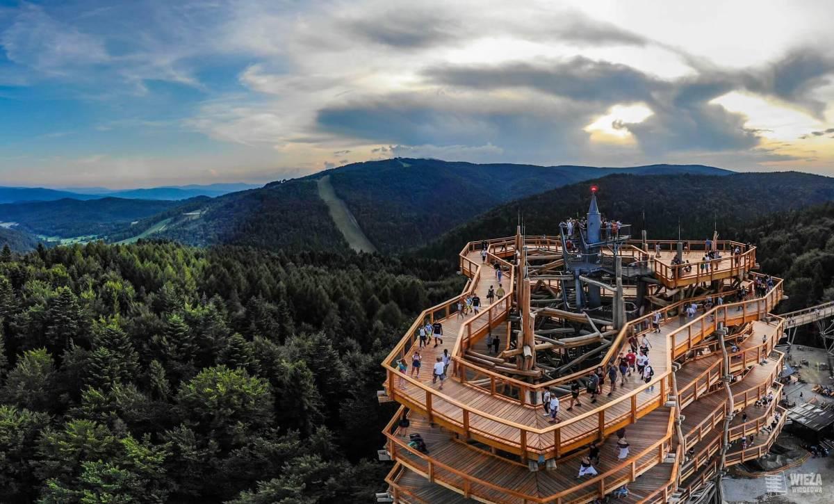 Wieża widokowa w Krynicy-Zdroju