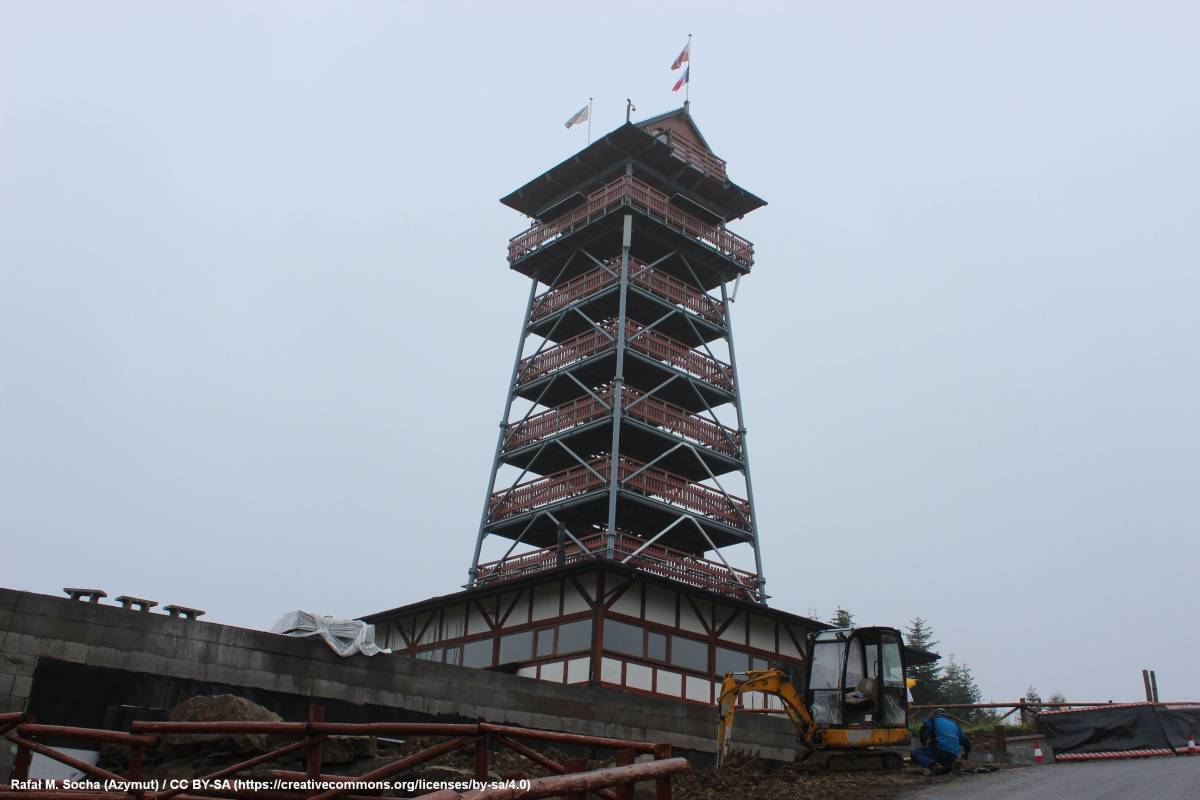 Wieża widokowa w Stryszawie