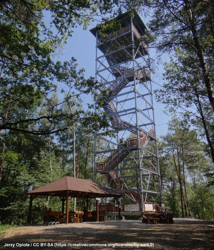 Wieża widokowa na Szpilówce