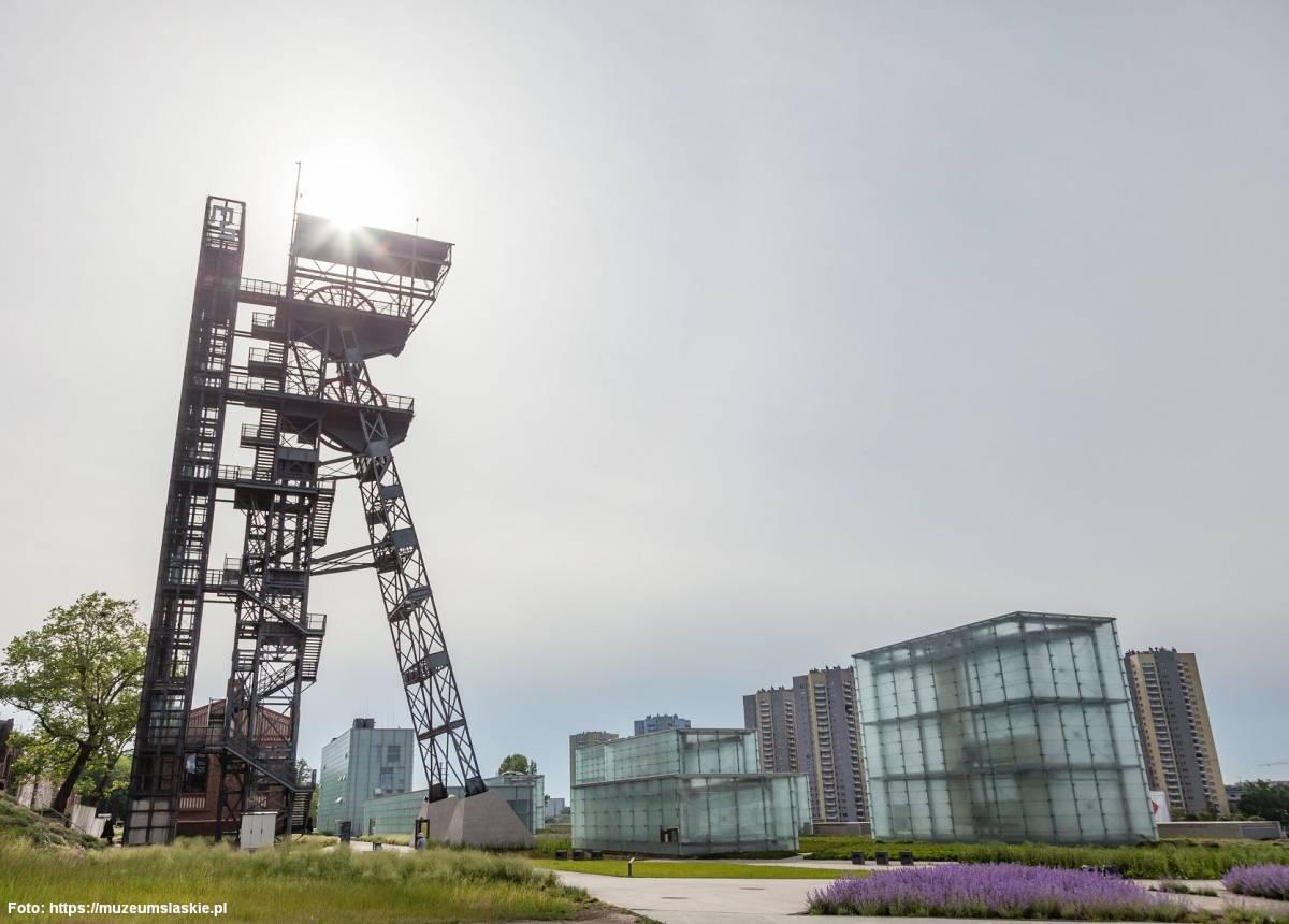 Wieża widokowa przy Muzeum Śląskim w Katowicach