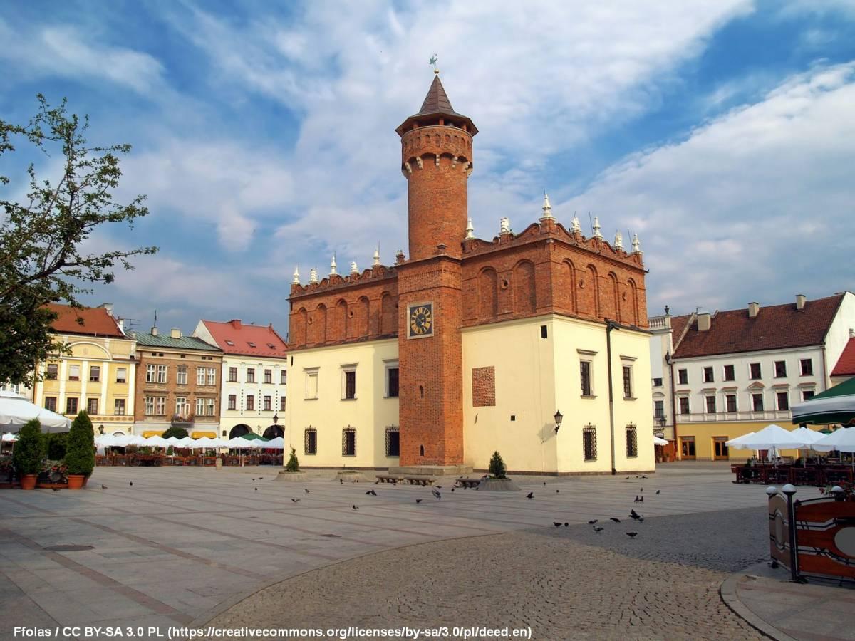 Wieża ratuszowa (widokowa) w Tarnowie