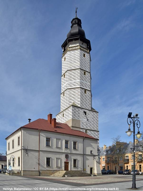 Wieża ratuszowa (widokowa) w Bieczu