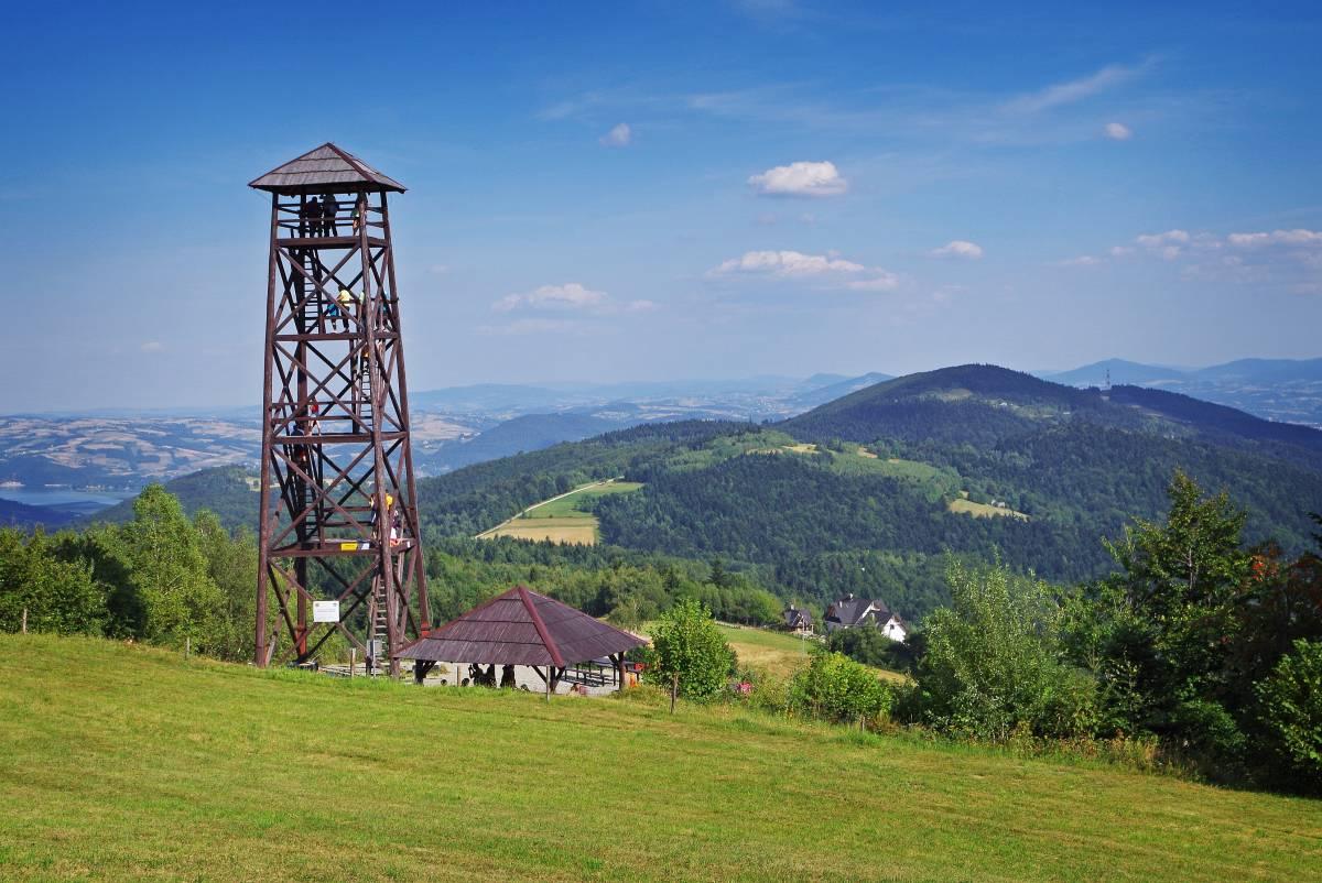 Wieża widokowa pod Jaworzem