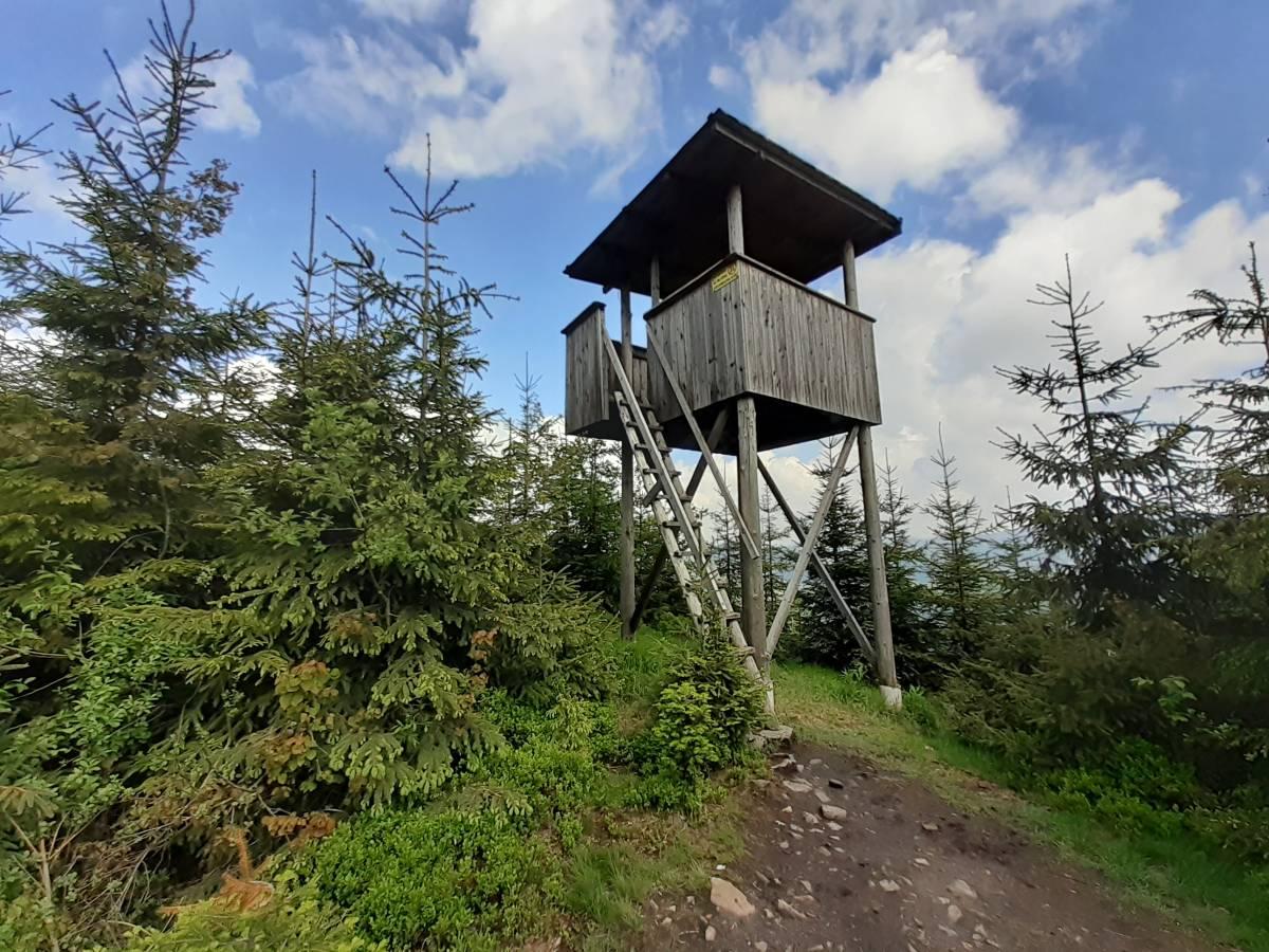 Mini-wieża widokowa na Kubalonce