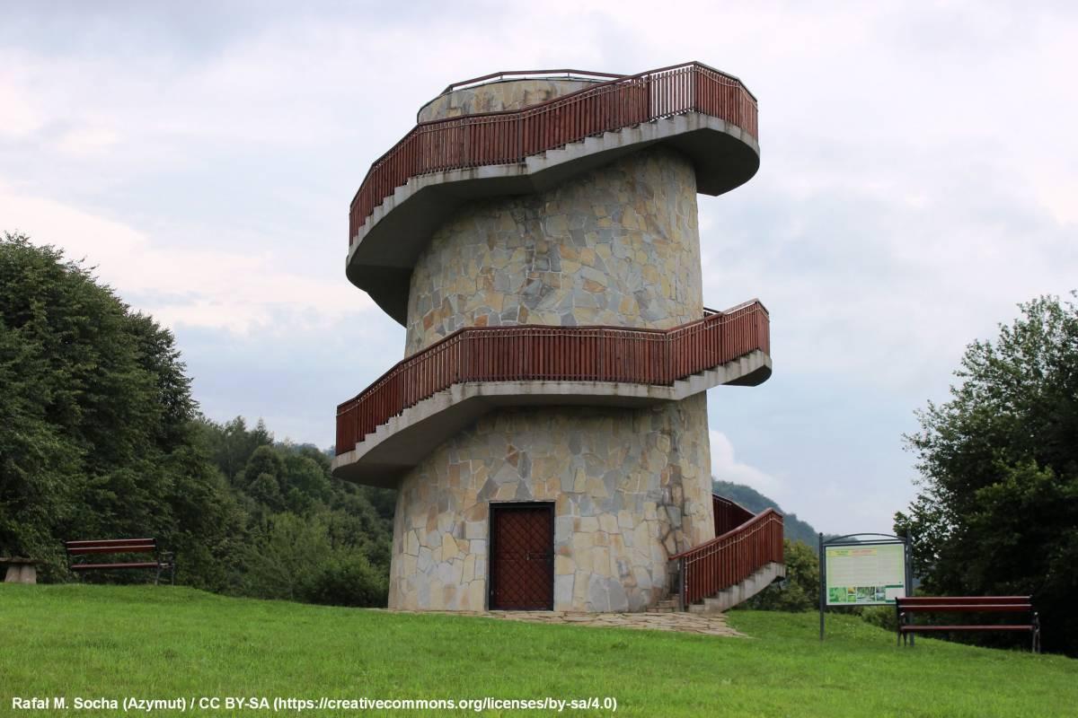 Wieża widokowa w Muszynie