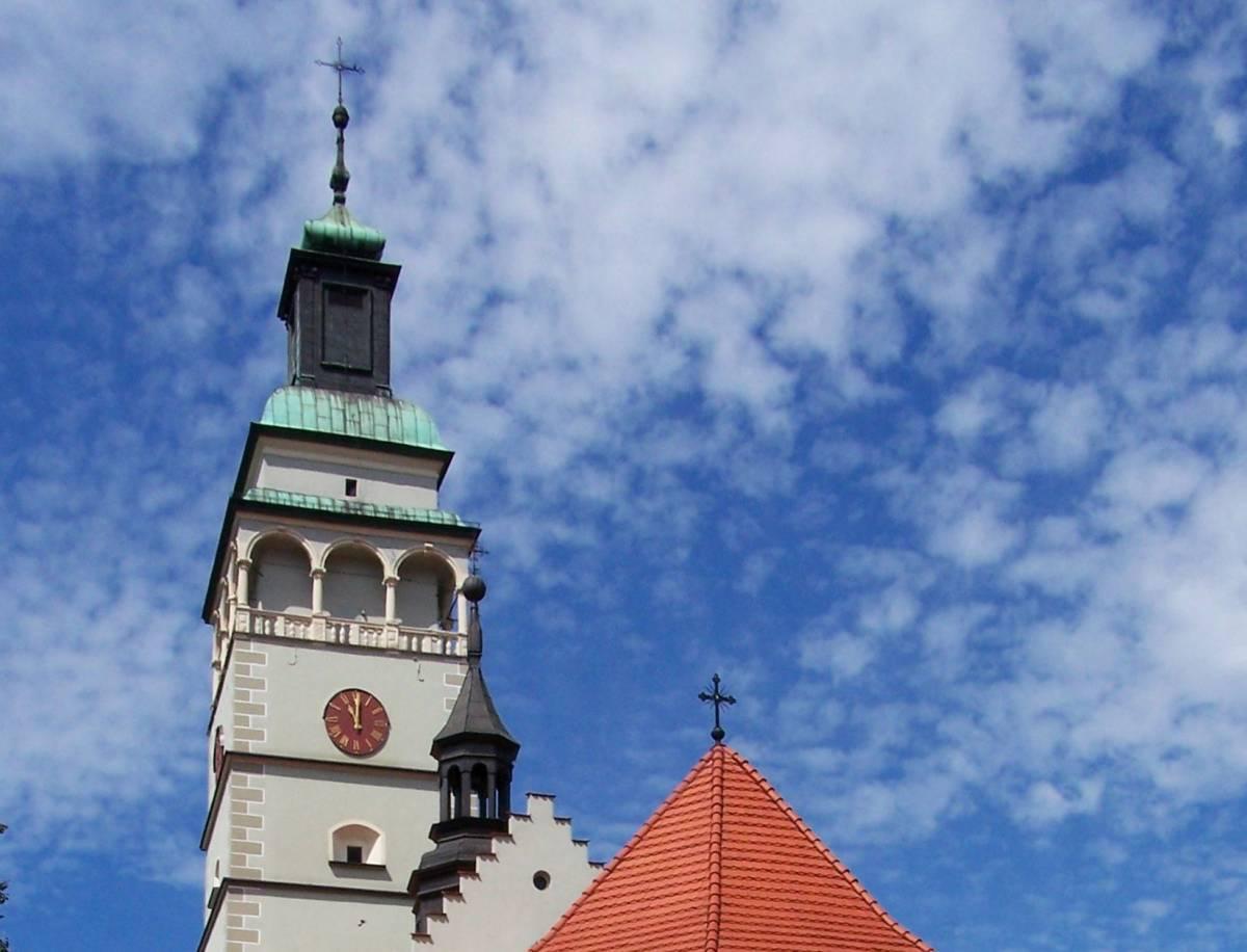 Wieża widokowa katedry pw. Narodzenia NMP w Żywcu