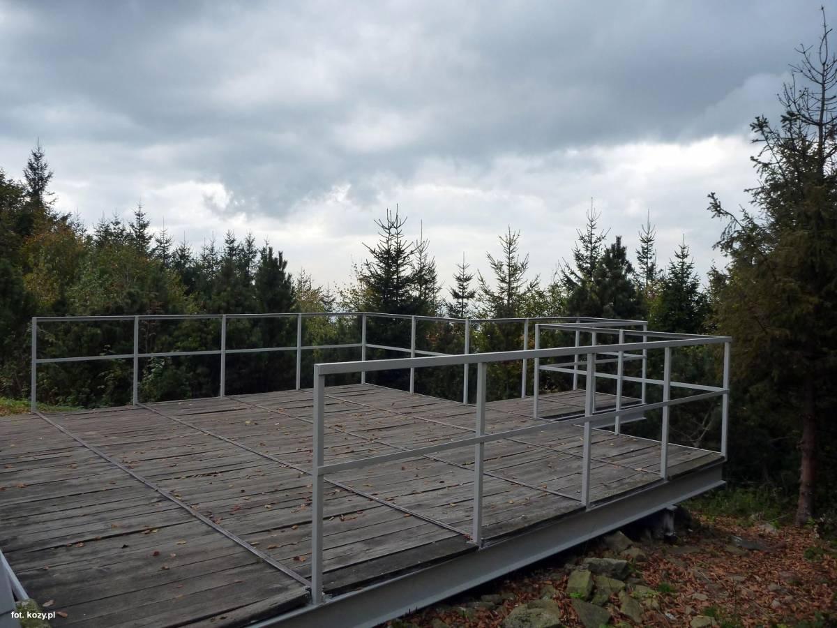 Platforma widokowa na Hrobaczej Łące